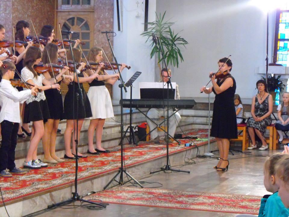Koncert uczniów Szkoły Suzuki