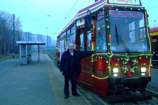 tram mikołajkowy